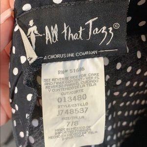 All that Jazz Dresses - Vintage Black & White Spaghetti Strap Dress